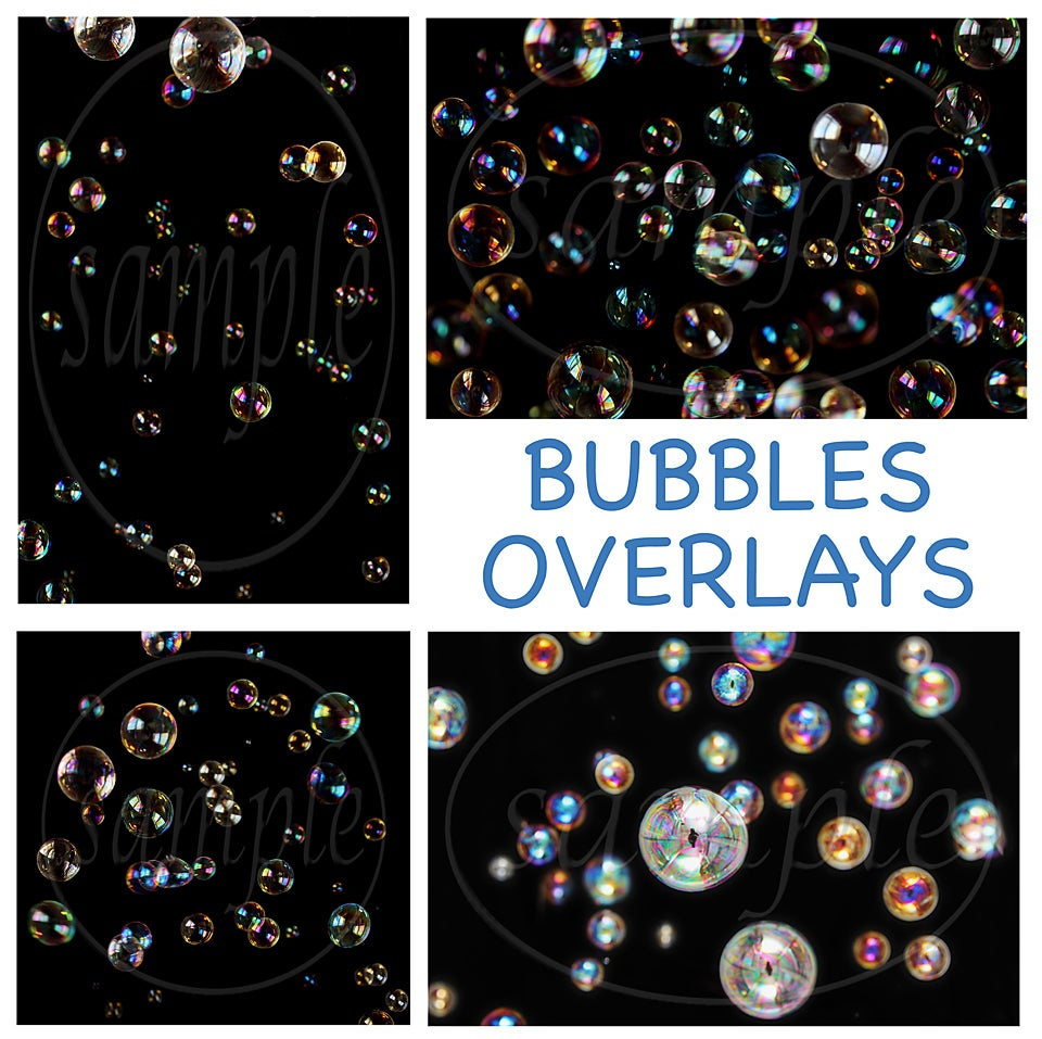 Image of Bubbles Overlays
