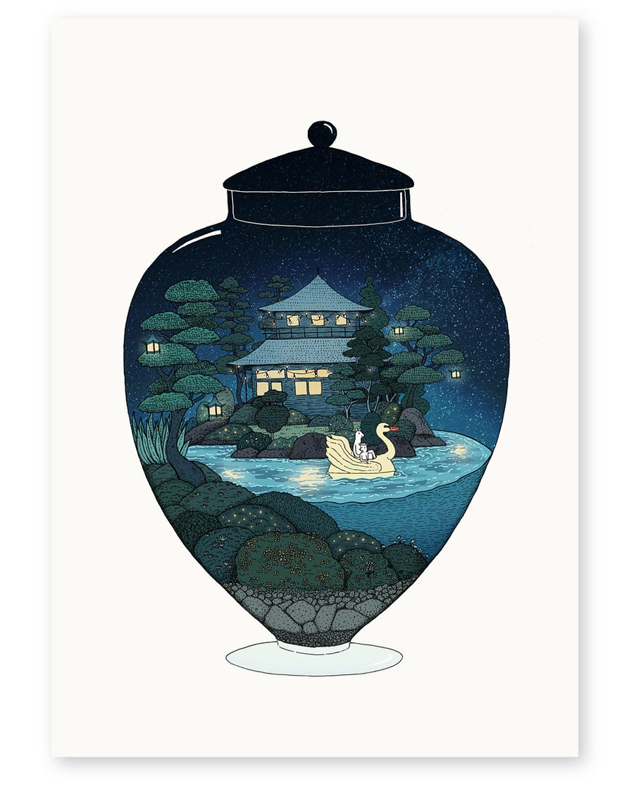 Image of 'Swan Lake' Limited Edition Art Print