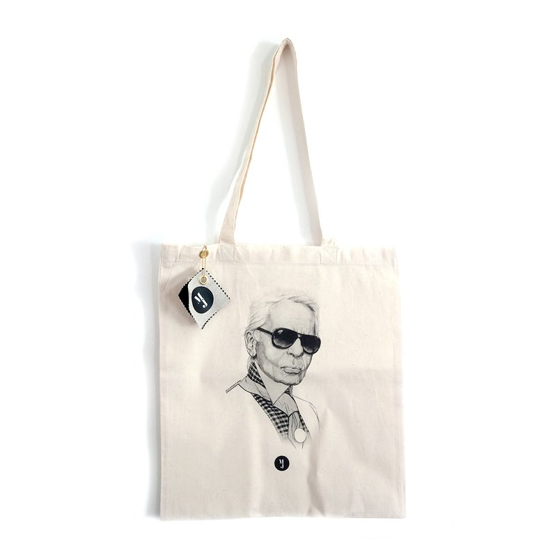 "Image of Tote Bag ""Karl"""