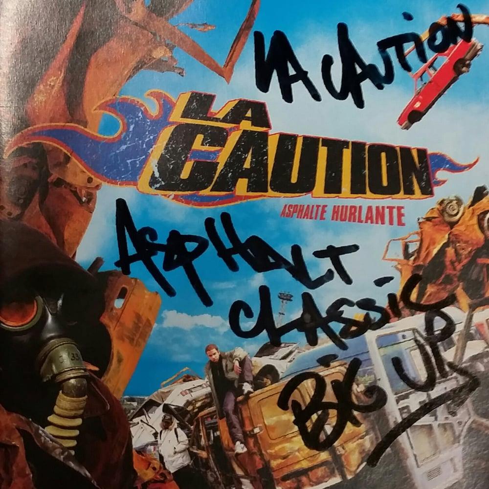 Image of La Caution : Asphalte Hurlante Collector Edition (CD)