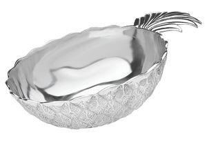 Image of Pineapple Silver Salad Bowl