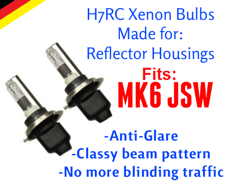 Image of H7rc Xenon HID Kit Fog fits: MK6 JSW