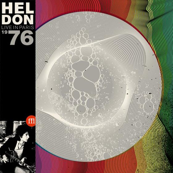Image of HELDON - LIVE IN PARIS 1976 - RSD 2015 EXCLUSIVE - (FFL008 MIXED PURPLE, WHITE & TRANSPARENT VINYL)