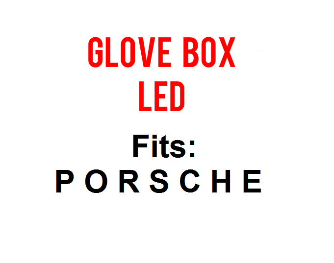 Image of Glove Box LED Fits: Porsche 911 - Cayenne - Cayman - Boxster - 921/194 Bulb