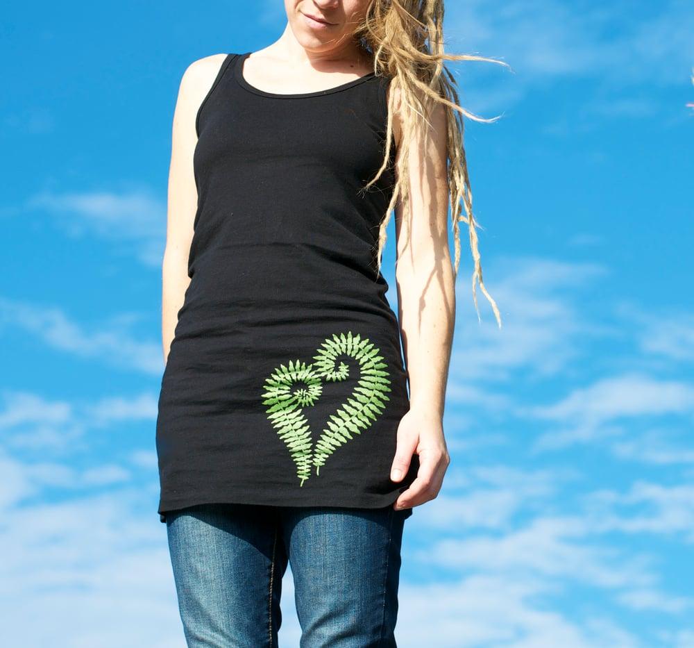 Image of +Fern Heart+ Tunic Tank Dress