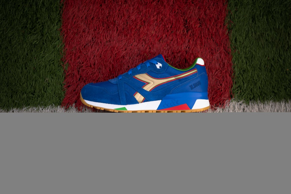 """Image of DIADORA N9000 X PACKERS SHOES """"ITALY"""" 501.161764 06"""
