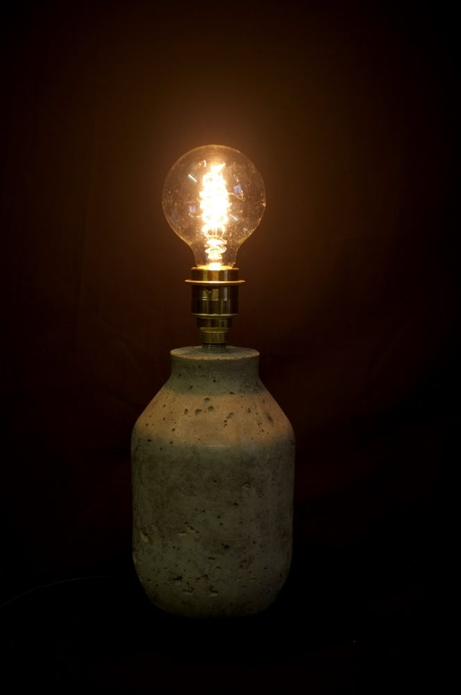 Image of Concrete Jar Desk Table lamp