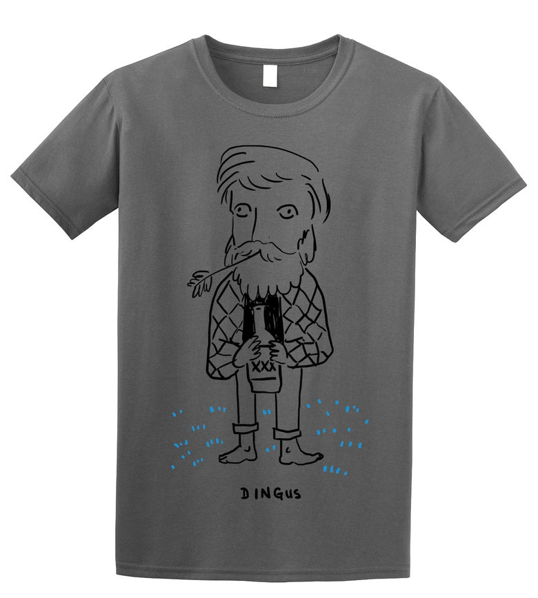 Image of DINGUS Shirt Charcoal