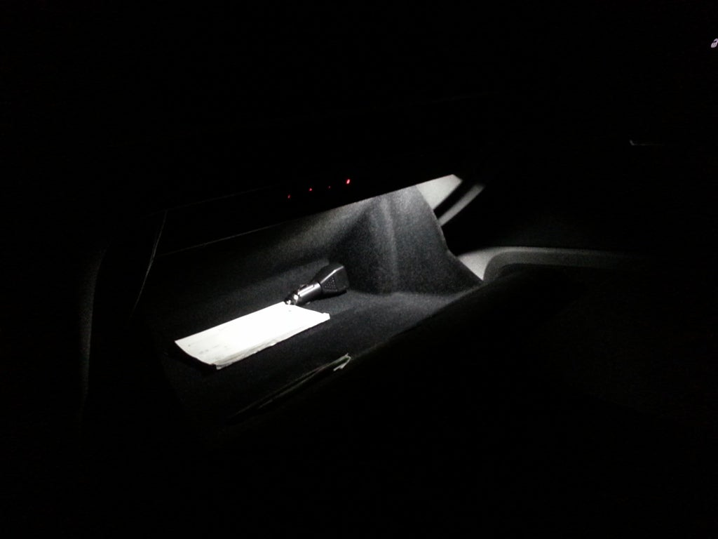 Image of Glove box LED - Bright - Crisp White - Error Free fits: MKVII 2015+ Volkswagen GTI / Golf