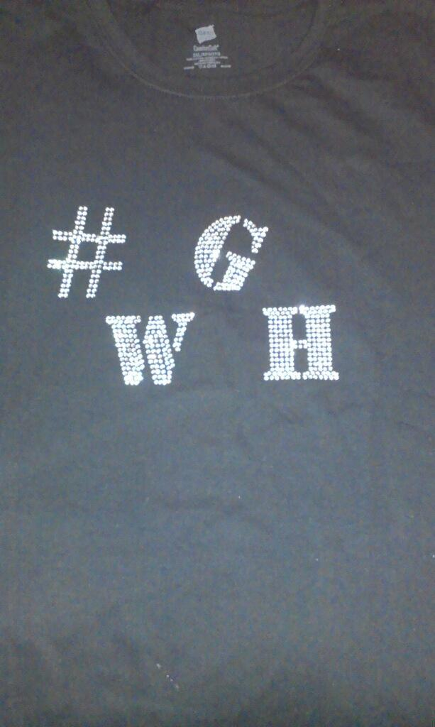 Image of Female #WGH Shirts