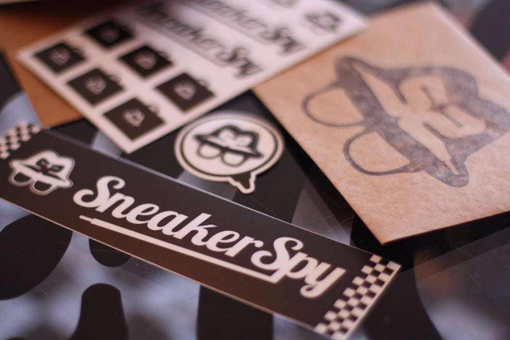 Image of SNEAKER SPY STICKER PACK