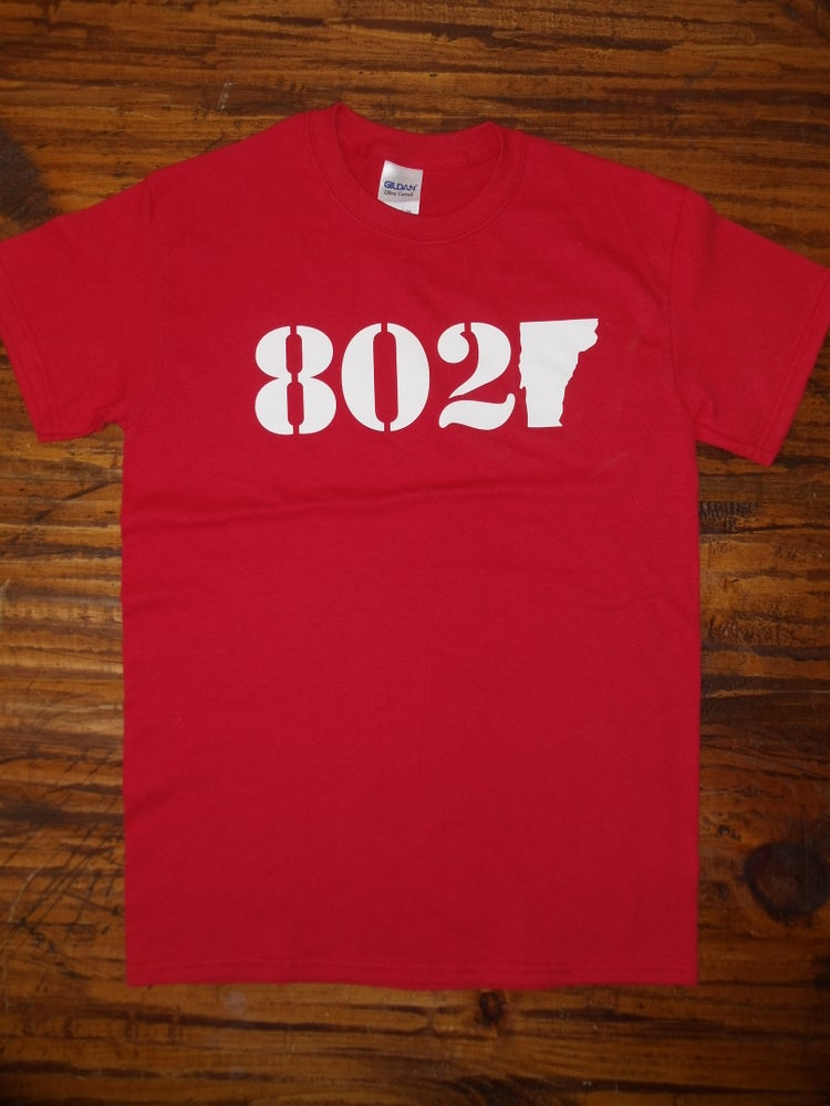 Image of Vermont 802 T-Shirt - vermont clothing - vermont clothes - 802 store - 802 clothing - 802 shop