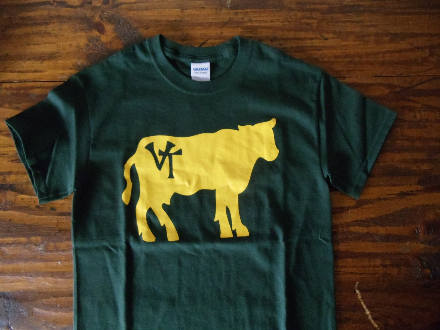 475c2fed ... Cow Shirt - Vermont T-Shirt - vermont clothing - vermont clothes. small  ...