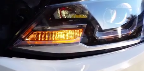Image of Front Turn Signals - Amber - Bright - Error Free fits: MK6 Jetta TDI S/SE/SEL