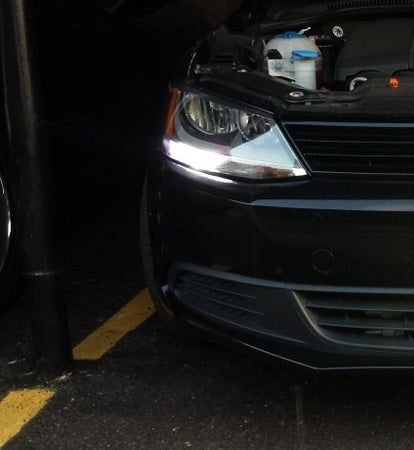 Image of Error free Super Bright Crisp White - 1156 CREE LED fits: Jetta MK6 DRLs