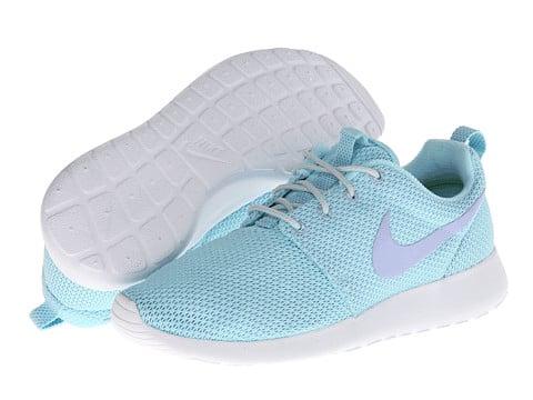 brand new 70906 db539 Image of Nike Roshe Run Womens Glacier Ice Purple Fade