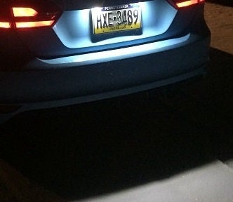 Image of License Plate LED Housing fits: All MK6 Jetta Models