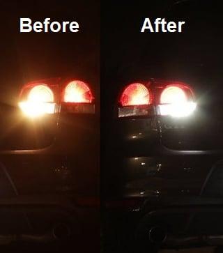Image of LED Reverse Lights  Super Bright Pure White -Error Free Fits: MK6 VW GTi