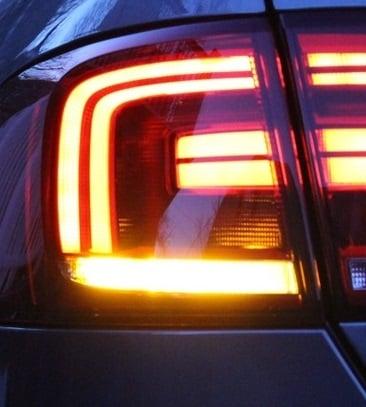 Image of 7440 Amber Rear Turn Signals Fits MK6 Jetta