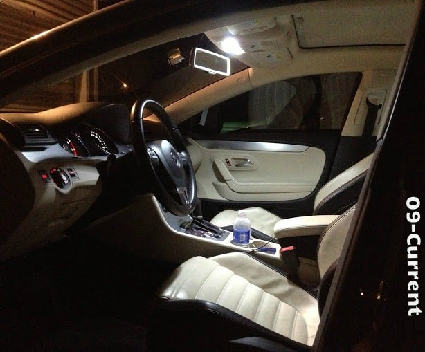 Image of 9pc Complete Interior LED Kit ERROR FREE Fits: VW 08-current Volkswagen CC