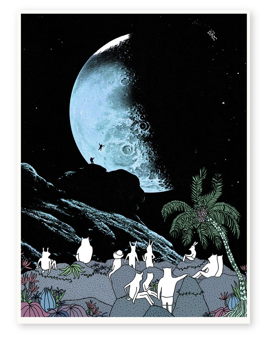 Image of 'Star Gazing' Limited Edition Art Print