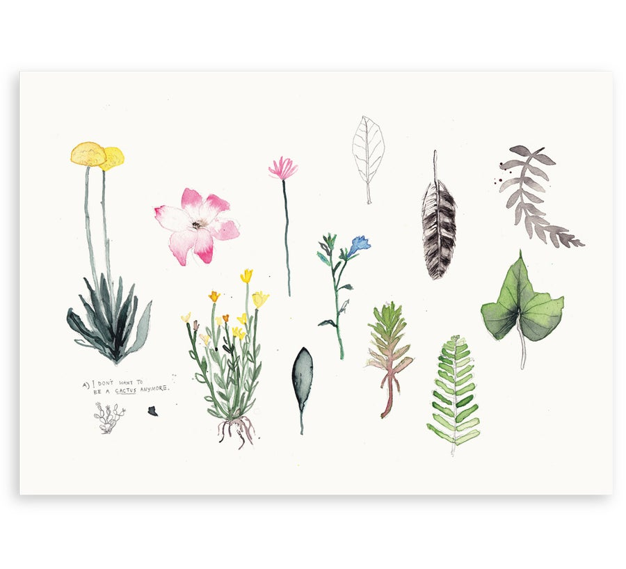 Image of 'Botanical' Art Print
