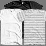 Image of AA2001 T-Shirt Template Set 1