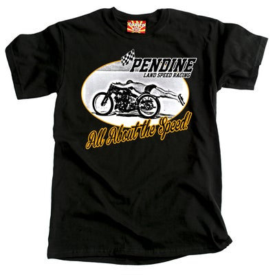 Image of All About The Speed (Black) T-Shirt