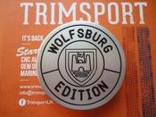 Image of Trimsport VW Golf Mk3 Wolfsburg Edition Outline Boot Badge