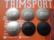 Image of Trimsport VW Corrado Large Domed Gearknob Badge