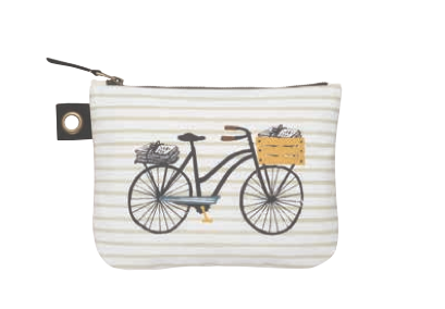 Image of Bicicletta Large Zipper Pouch