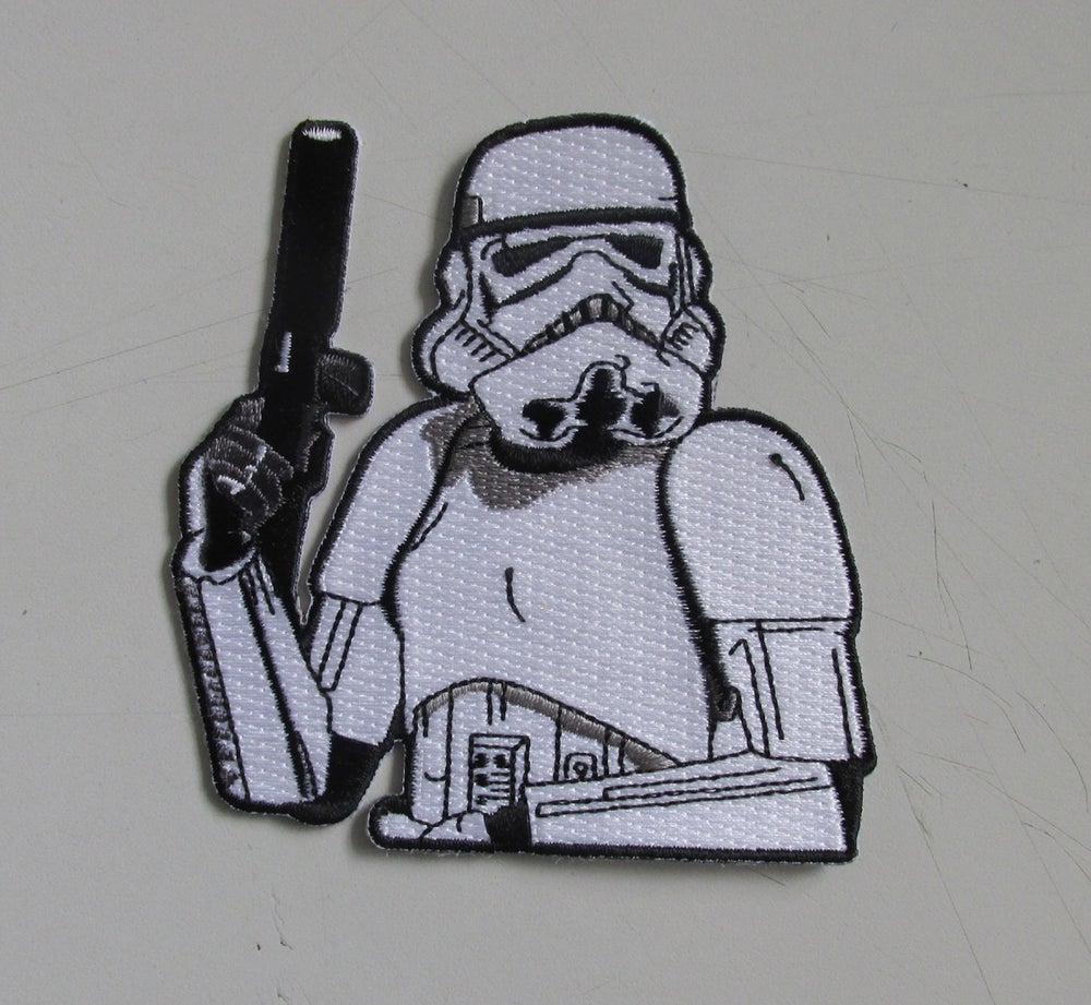 "Image of Stormtrooper 4"" Regular and Velcro"