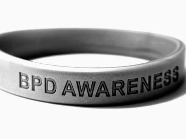 Image of Silver/Metallic Grey BPD Awareness Band