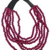 Image of Nile Collar Multistrand Necklace (Orchid) by Eb&Ive