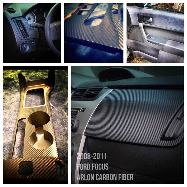 Image of Ford Focus 2008-2011 Carbon Fiber Interior