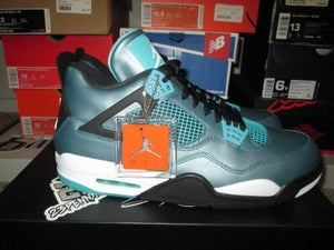 """Image of Air Jordan IV (4) Retro """"Teal"""""""