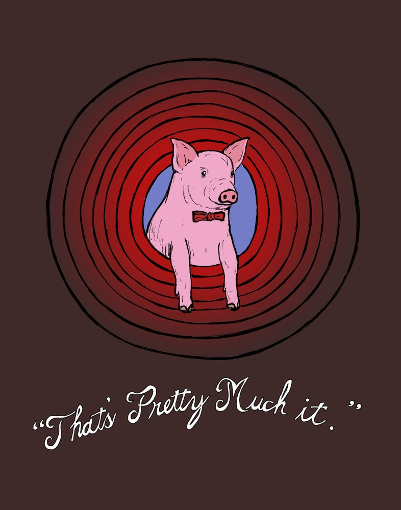 """Image of """"To End with a Pig"""""""