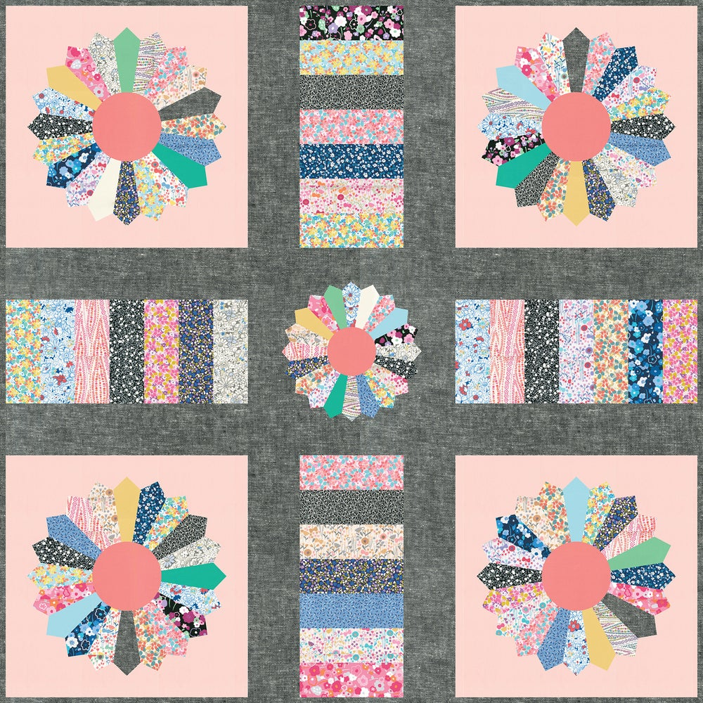 Image of Bloomsbury Quilt Pattern - PDF