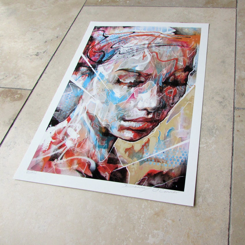 Image of Drenched In Reflection - OPEN EDITION PRINT - FREE WORLDWIDE SHIPPING