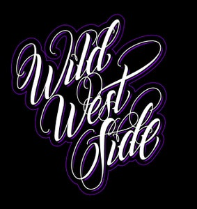 Image of Womens IGNITE Script T-Shirt - Purple