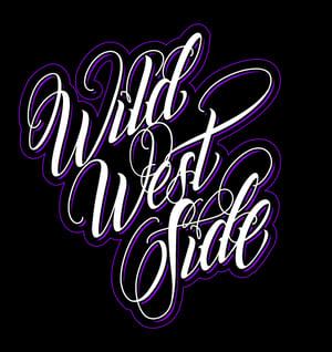 Image of Womens IGNITE Script T-Shirt - Purple