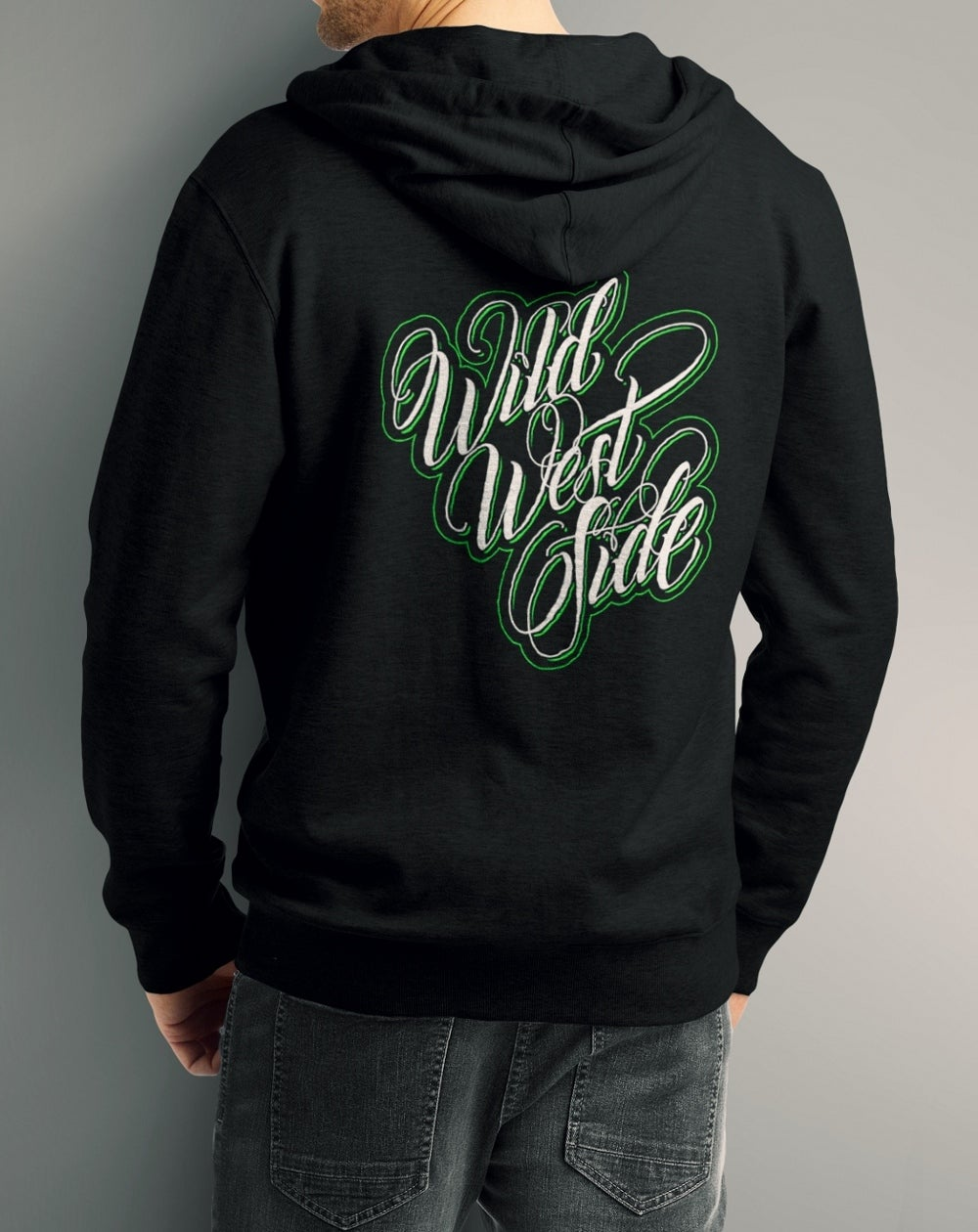 Image of Mens IGNITE Script Fleece Hoodie