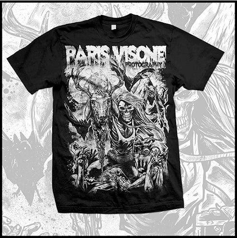 Image of Paris Visone Photography METAL Tshirt