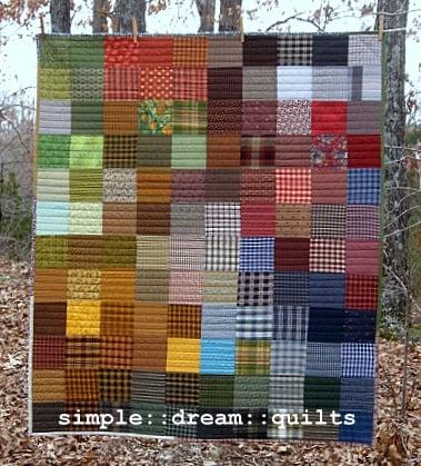 "Image of gradient.....lap quilt... 54"" x 46"""