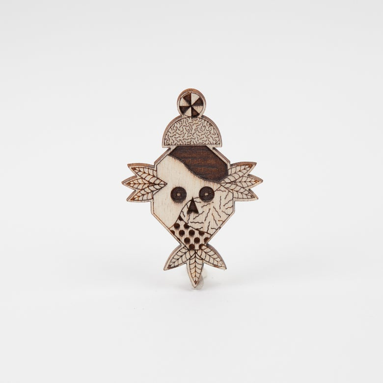 "Image of Broche ""Totem"" par Hell'O Monsters"