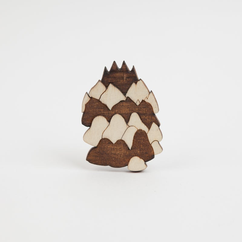 "Image of Broche ""Moutain #1""  par Marta Orzel"