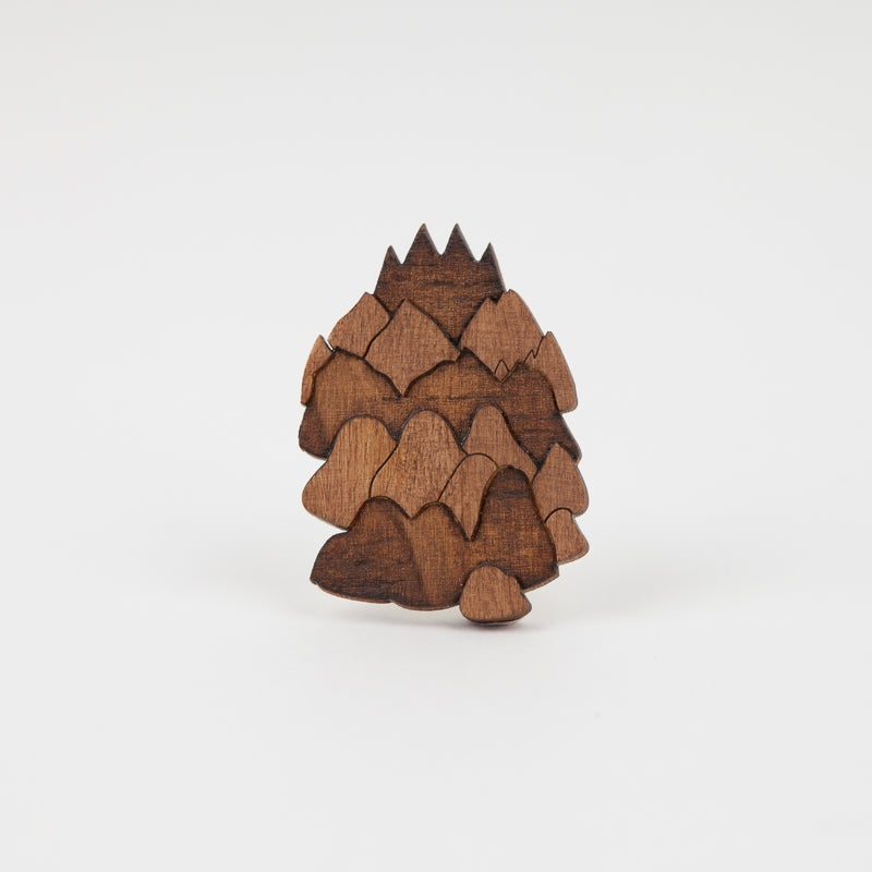 "Image of Broche ""Moutain #2""  par Marta Orzel"