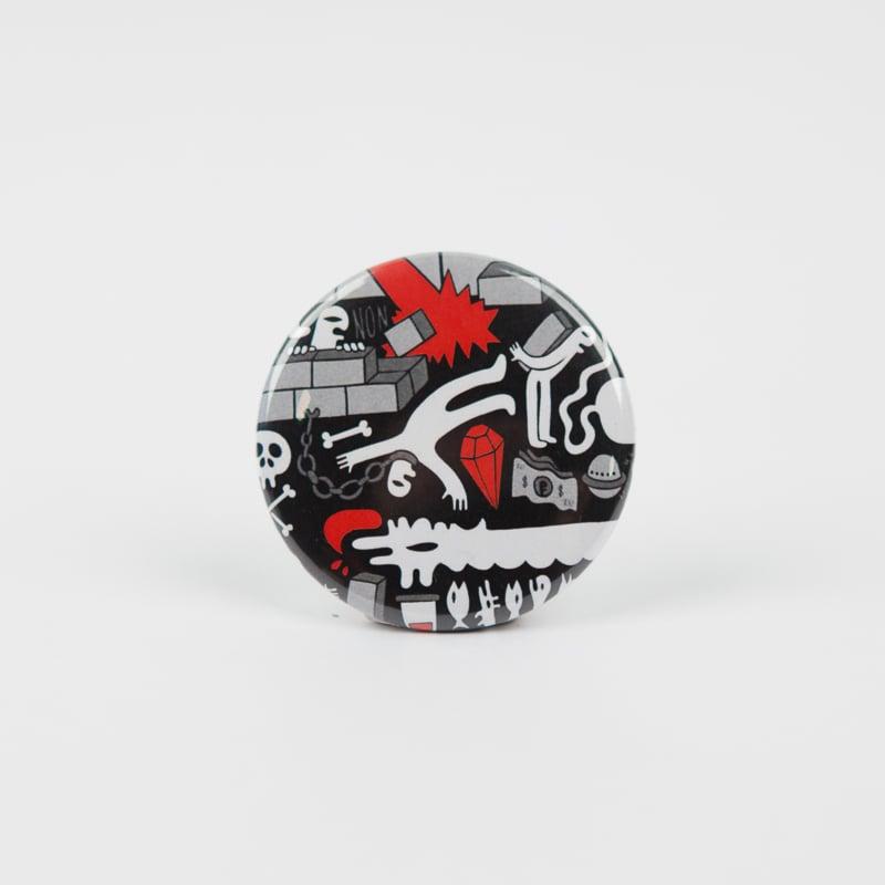 Image of Badge Grems #1