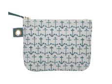 Image of Seven Seas Large Zipper Pouch