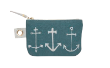 Image of Seven Seas Small Zipper Pouch